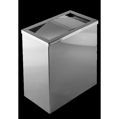 不銹鋼搖蓋式垃圾桶